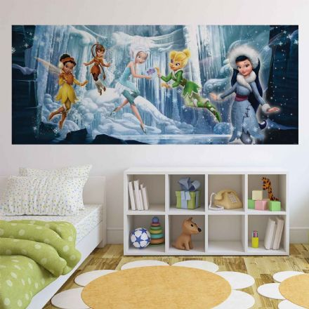 Panoramic wallpaper mural Disney Fairies Tinker Bell